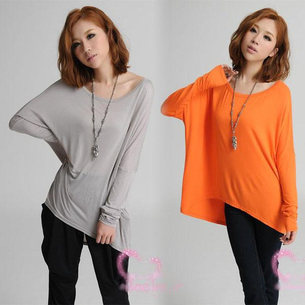 colorful oversized cotton long blouse new collection