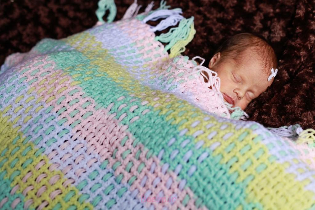 کودک قلاب دوزی الگوهای پتو با تصاویر (10)