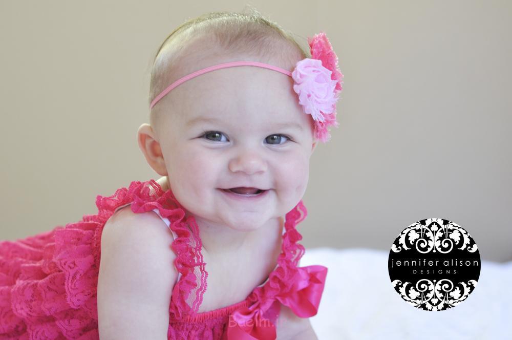 cuteb baby hot pink romper