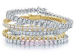 الماس تنیس دستبند آیکون