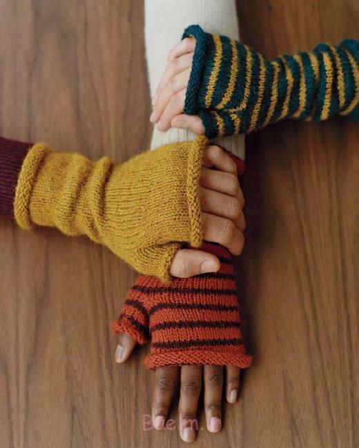 fingerless mittens knitting pattern ideas (14)