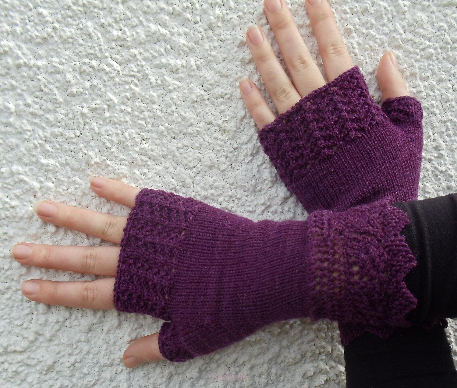 fingerless mittens knitting pattern ideas (7)