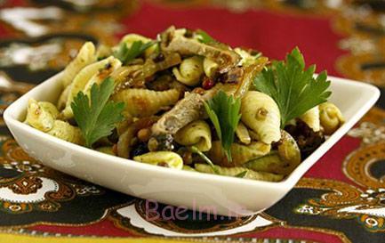درست کردن سالاد ماکارونی آسیایی,نحوه پخت سالاد ماکارونی آسیایی