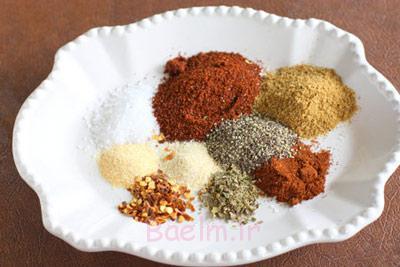نکات خانه داری | مواد لازم و طرز تهیه ادویه تاکو مخصوص غذاهای مکزیکی