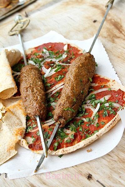 طرز تهیه کباب لبنانی, مواد لازم برای کباب لقمه لبنانی