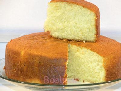 طرز پخت کیک اسفنجی,درست کردن کیک اسفنجی