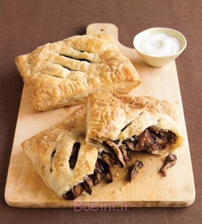 درست کردن نان پر شده با قارچ,مواد لازم برای نان پر شده با قارچ