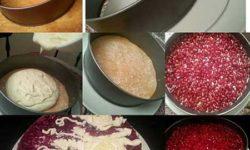 آموزش انواع چیز کیک | مواد لازم و طرز تهیه چیز کیک انار با ژله