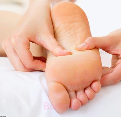 ماساژ پا,فواید ماساژ کف پا,نحوه ماساژ پا