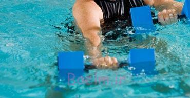 تمرینات هوازی در شنا,تمرینات هوازی در آب,تمرینات هوازی در آب چیست,ایروبیک در آب