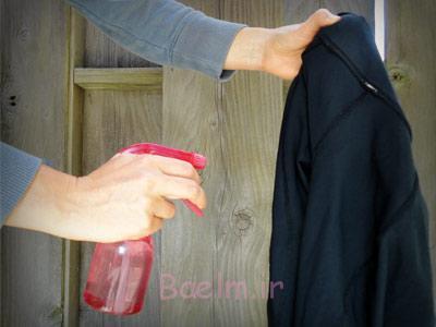 نحوه صاف کردن لباس در مسافرت,روش های صاف کردن چروک لباس