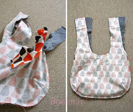 طرز دوخت کیف های پارچه ای, آموزش دوخت کیف