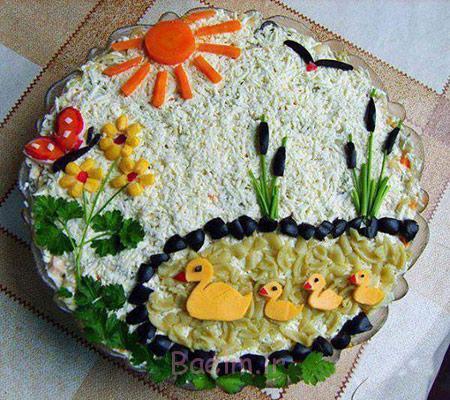 تزیین کیک, تزیین میوه