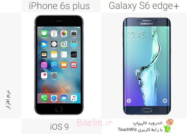 iPhone 6splus vs samsung galaxy s6 edge plus 7