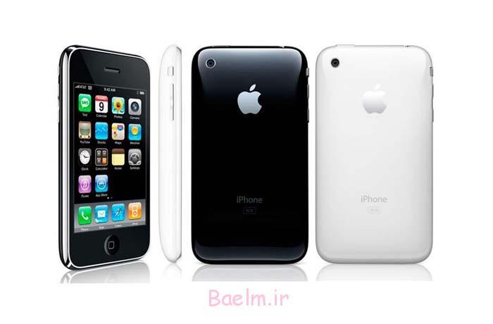 آیفون 3Gs سومین آیفون اپل از نظر ظاهری کاملا شبیه به مدل دوم است