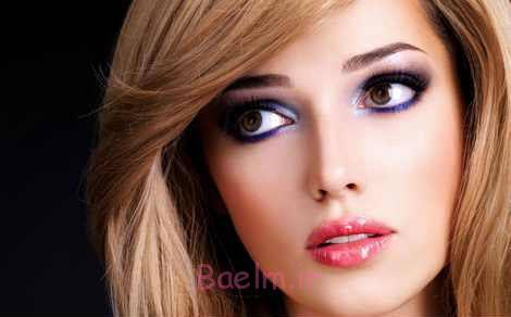 مدل آرایش عروس ساده و زیبا