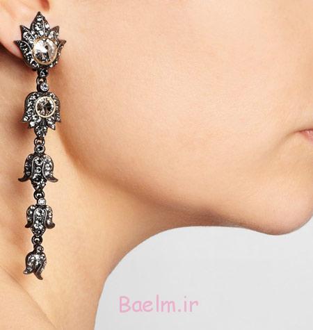 گوشواره های جواهر هندی, گوشواره طلا و جواهر هندی