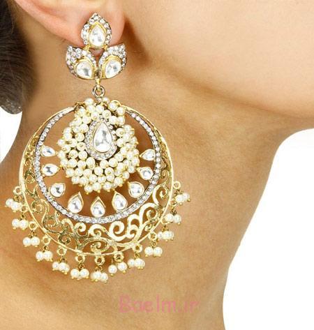 مدل های جواهرات هندی, گوشواره های برند هندی