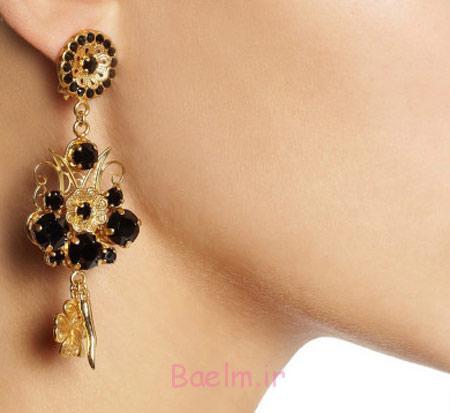 گوشواره طلا و جواهر هندی, مدل های جواهرات هندی