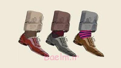 اصول انتخاب شلوار و کفش و جوراب, بهترین رنگ جوراب و کفش