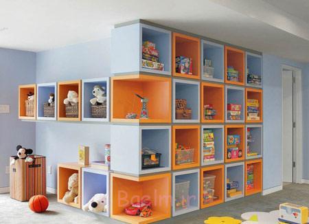 نحوه مرتب کردن اتاق کودکان,روش نظم دادن به اتاق کودک
