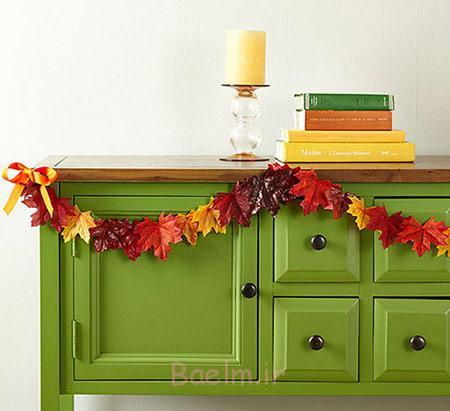 تزیینات پاییزی خانه,طراحی پاییزی خانه