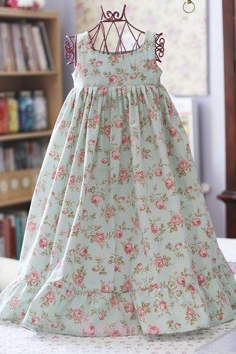 new girls in beautiful cotton frocks (14)