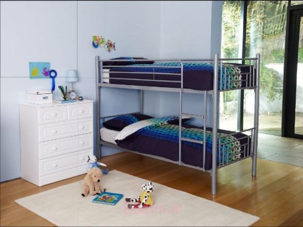 شیک و جدید فلزی تخت تختخواب سفری برای کودکان و نوجوانان 2014