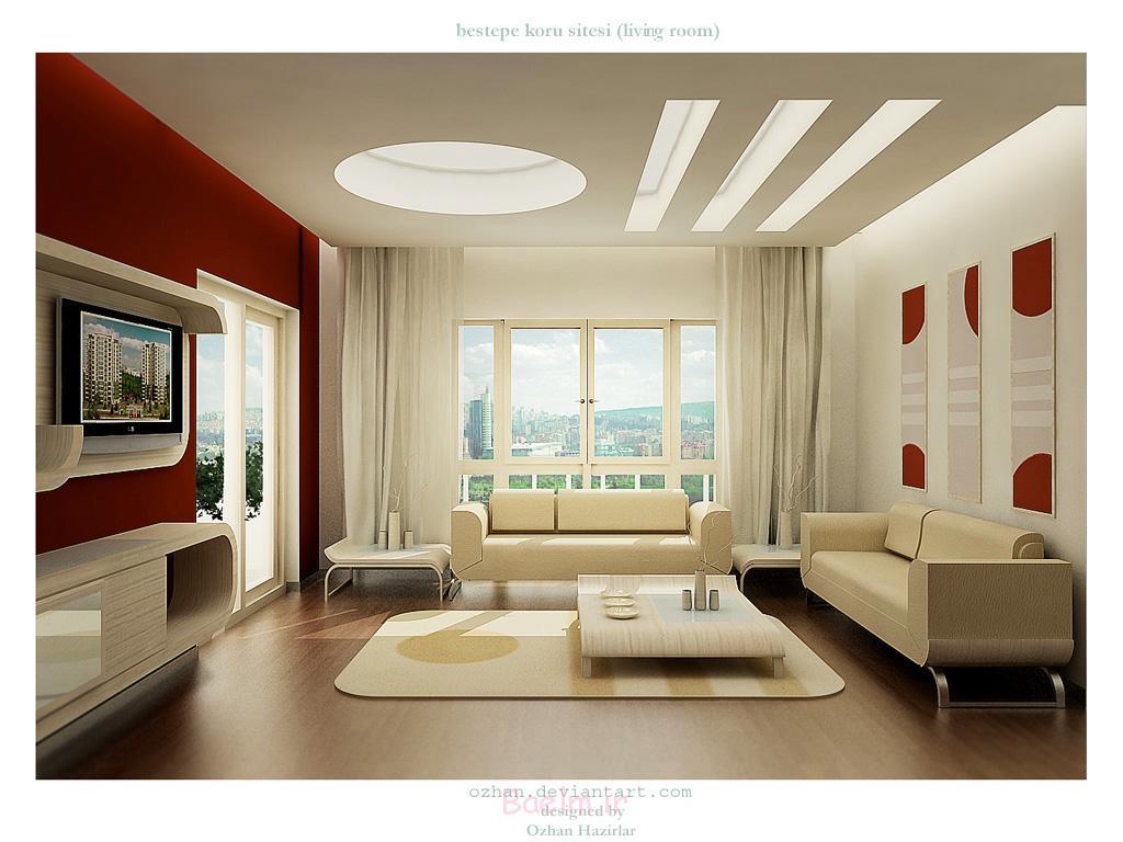 nice Simple Sitting Room Decoration
