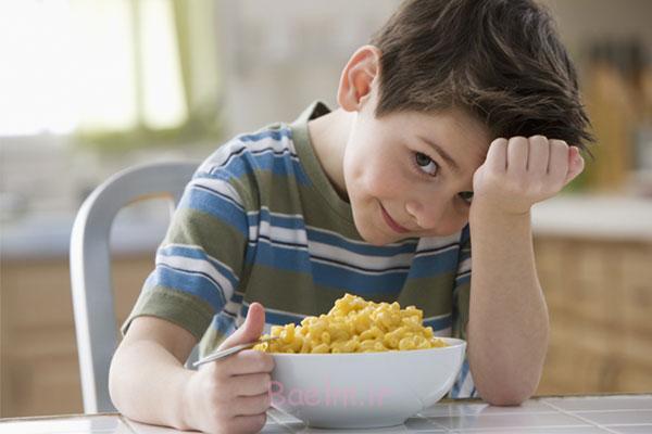 پیشنهاد غذاهای جذاب برای تحریک اشتهای کودک