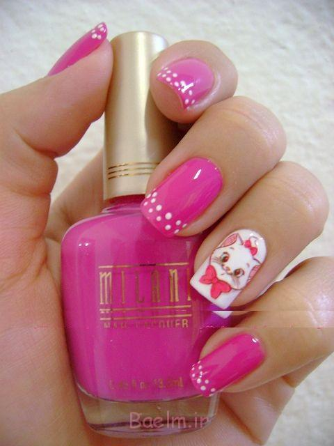 http://trendymods.com/wp-content/uploads/2014/10/pink-and-white-animal-nail-art.jpg