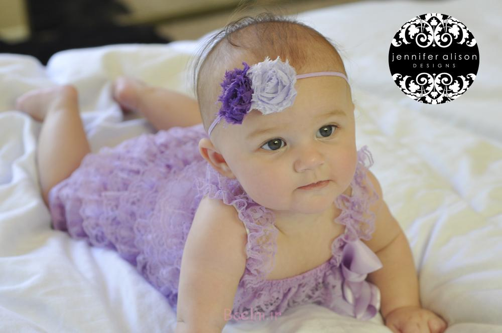 purple petti romper for baby girls