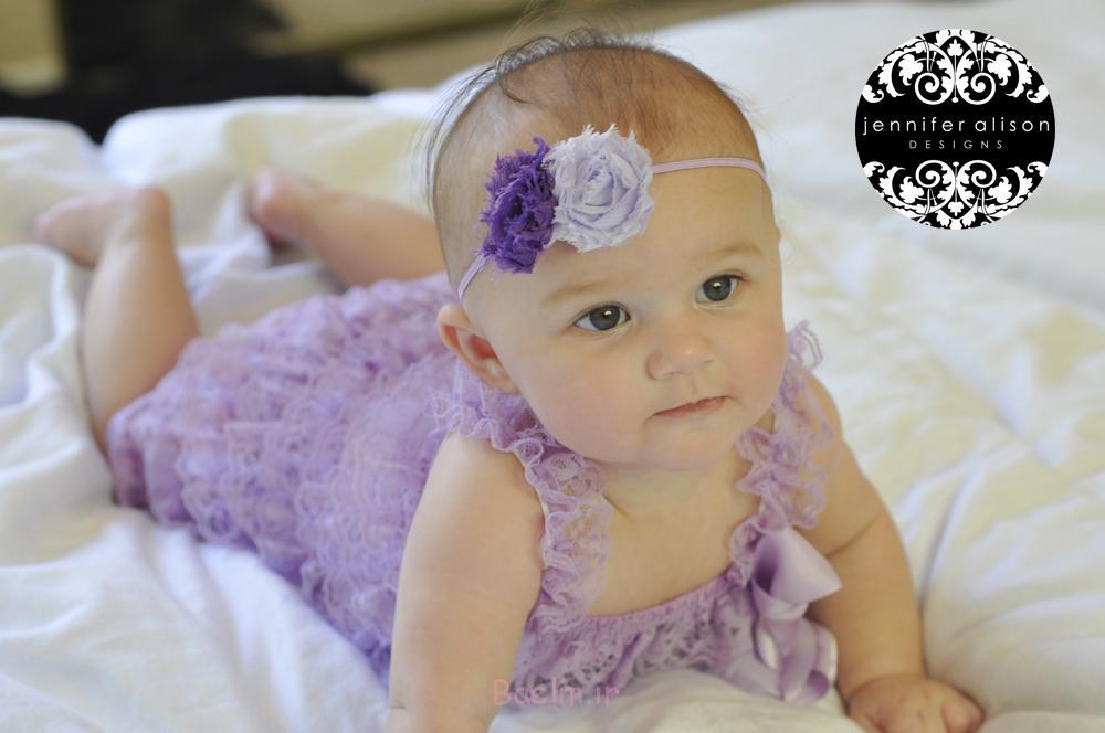 purple petti romper for baby girls