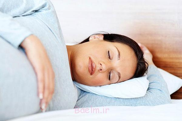 چگونه در دوران بارداری راحت بخوابم ؟