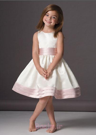 white pink designer dress