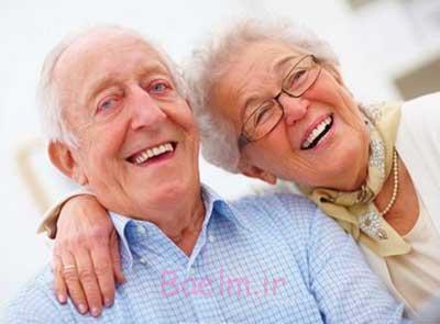 ارتباط زن و مرد در دوران سالمندی جنبه جنسی ندارد