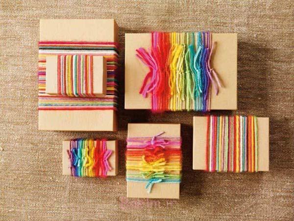 ابده های خلاقانه برای کادو پیچیدن