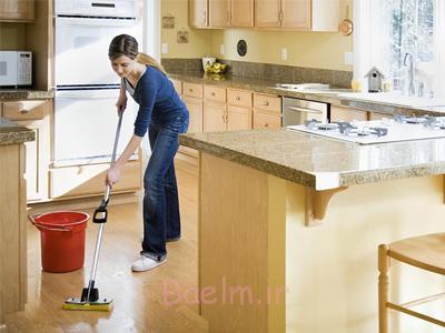 نکات نظافتی خانه