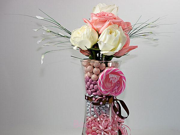 2014 گلدان شیشه ای منحصر به فرد محور عروسی (1)