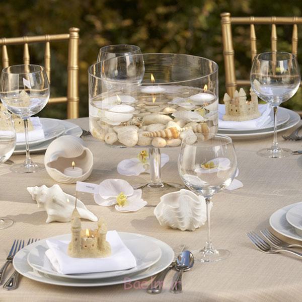 2014 گلدان شیشه ای منحصر به فرد محور عروسی (11)