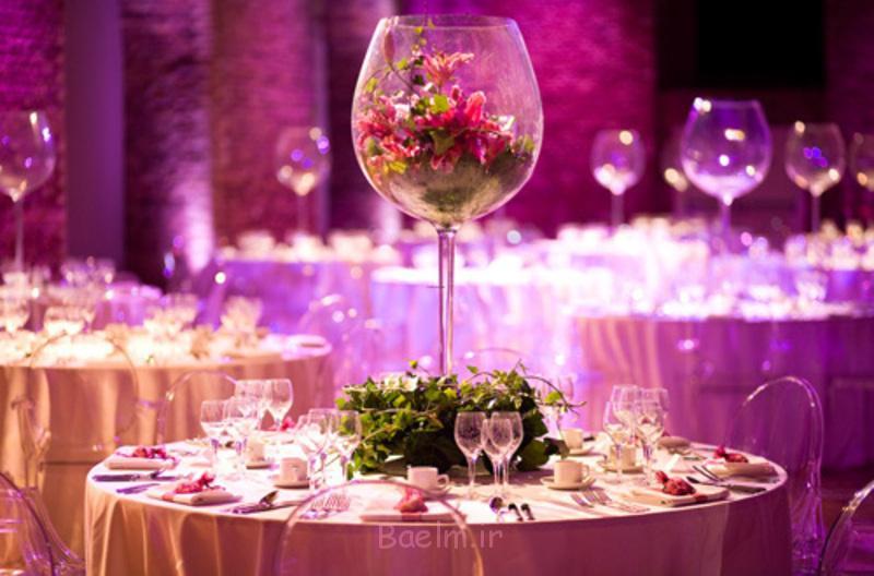 عروسی ایده های دکوراسیون جدول