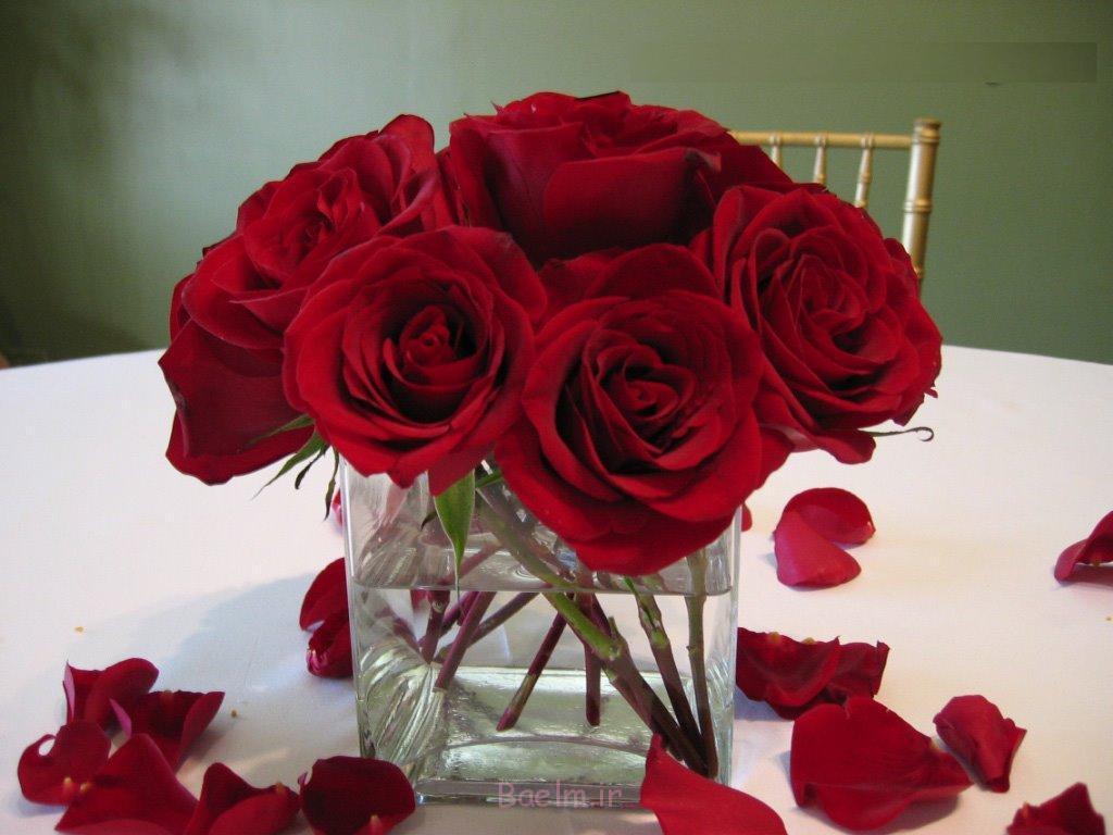 2014 گلدان شیشه ای منحصر به فرد محور عروسی (3)
