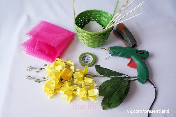 چگونه به DIY-بچه-لباس-گل-دسته گل-2