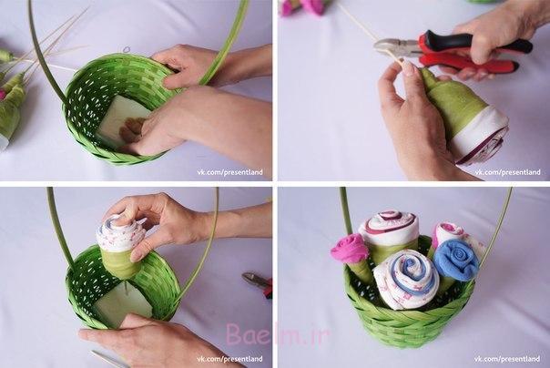 چگونه به DIY-بچه-لباس-گل-دسته گل-5