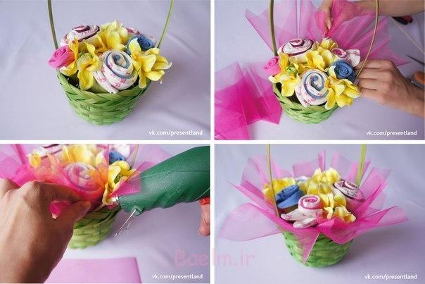 چگونه به DIY-بچه-لباس-گل-دسته گل-6