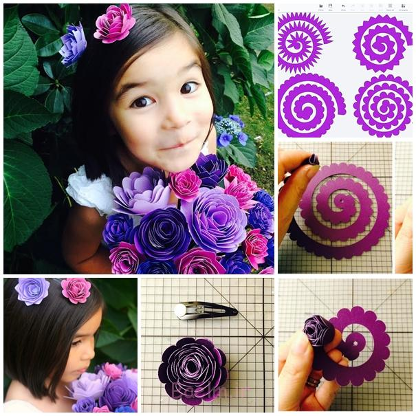 مقاله دسته گل F شگفت انگیز DIY زرق و برق دار کاغذ دسته گل برای عروسی