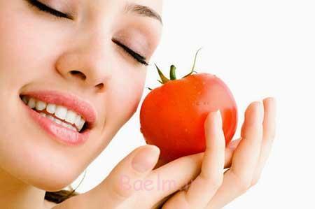 تاثیر گوجه فرنگی برروی پوست