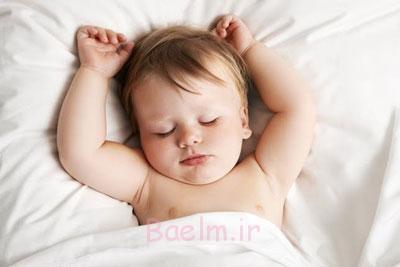 خواب کافی نوزاد,تختخواب نوزاد