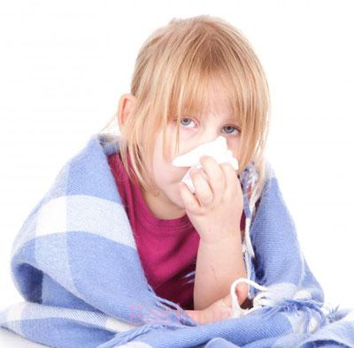 درمان سرماخوردگی کودکان