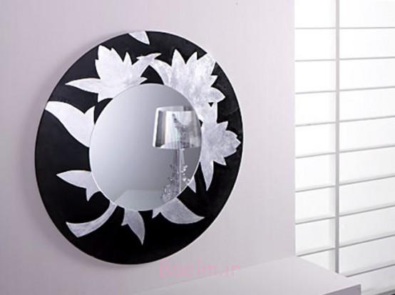 black color Beautiful Decorative Mirrors